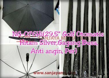 Payung golf otomatis warna hitam