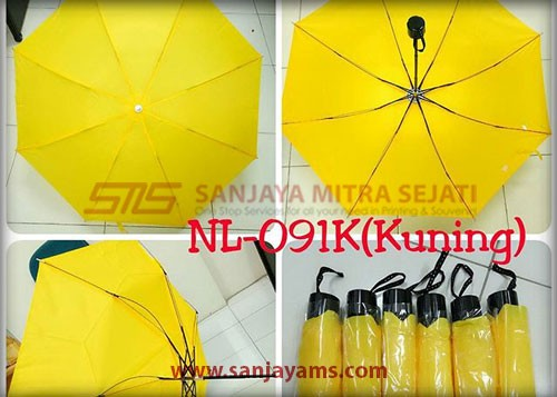 Payung warna kuning