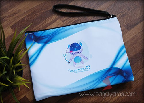 Pouch printing - my password