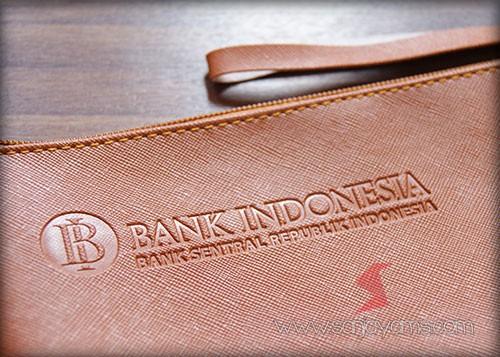Emboss logo - Bank Indonesia