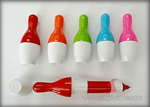 5 pilihan warna pulpen bowling