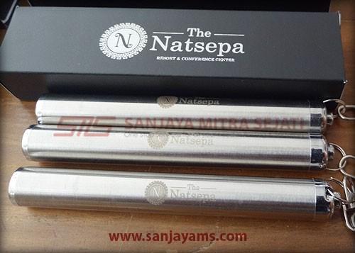 Hasil cetakan laser logo - The Natsepa