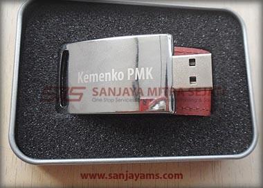 Hasil cetakan laser logo -  Kemenko PMK