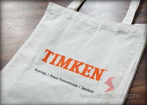 Hasil cetak logo printing - Timken