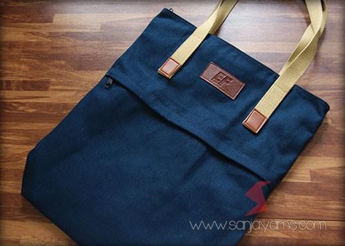 Goodie bag bahan rafel - EF