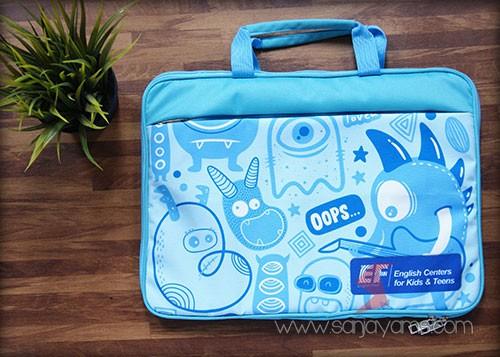 Tas laptop printing - EF