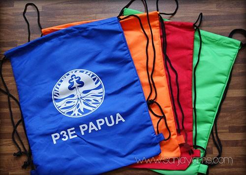 Tas punggung serut - P3E Papua