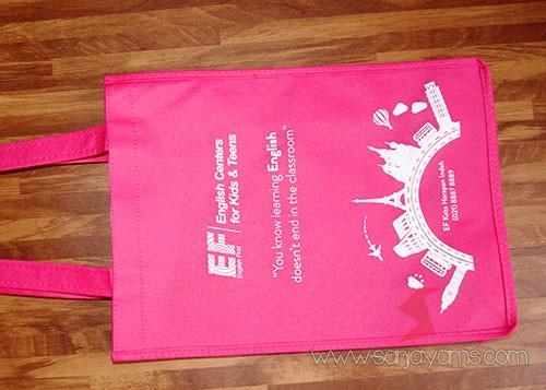 Tas warna pink - EF