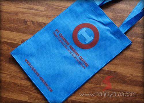 Hasil cetakan logo - PT Cigading
