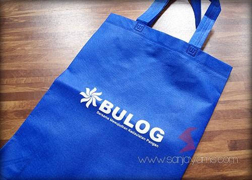 Tas dengan logo - Bulog