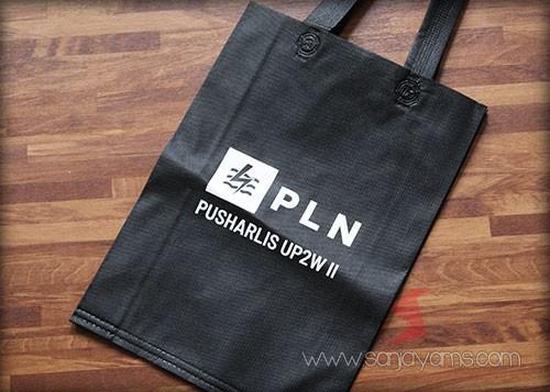 Cetakan logo - PLN