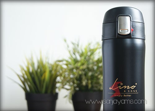 thermos olive lino