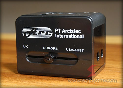 Hasil cetak logo PT Arcistec International