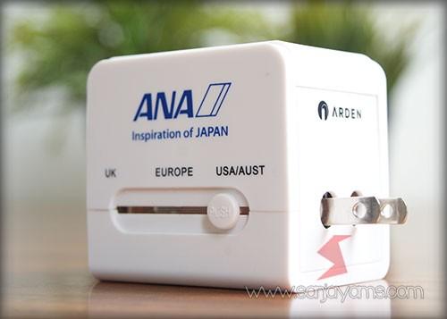 Travel adaptor - ANA
