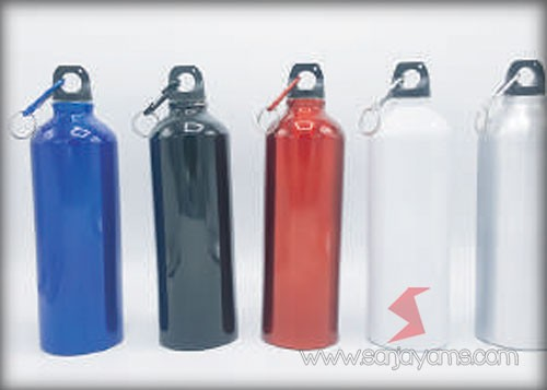 Tersedia 4 pilihan warna thumbler aluminium
