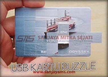 USB Kartu Puzzle