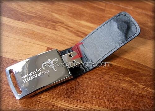 Hasil cetakan 1 warna di USB - Wonderful Indonesia