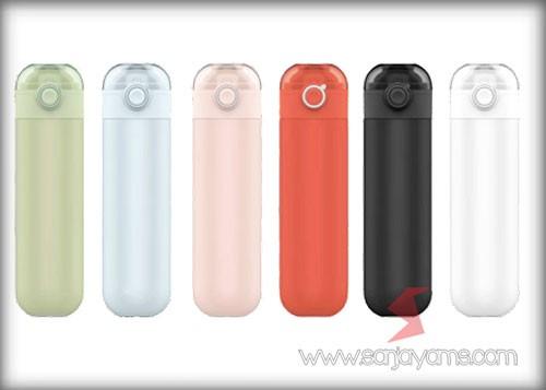 6 pilihan warna Vacuum Thermos