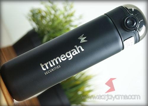 Vacuum thermos logo Trimegah