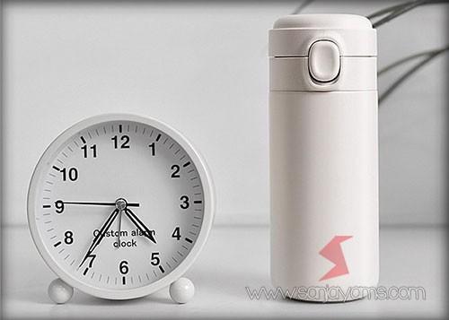 Vacuum thermos warna putih