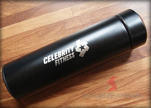 Hasil cetak logo - Celebrity Fitnes