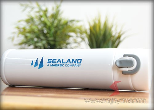 Thermos Sealand warna putih