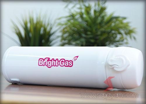 Hasil Cetakan Bright Gas