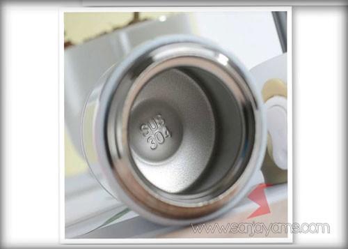 Detail Bagian dalam vacuum thermos