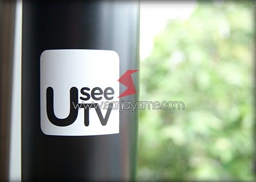 Hasil cetakan 1 warna di tumbler - Usee Tv