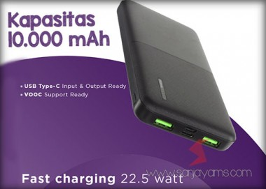 Powerbank 10.000 MAH (PD01)