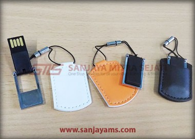 USB Mini Sarung Kulit (UK28)